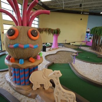 Crave Golf Club - Indoor Course