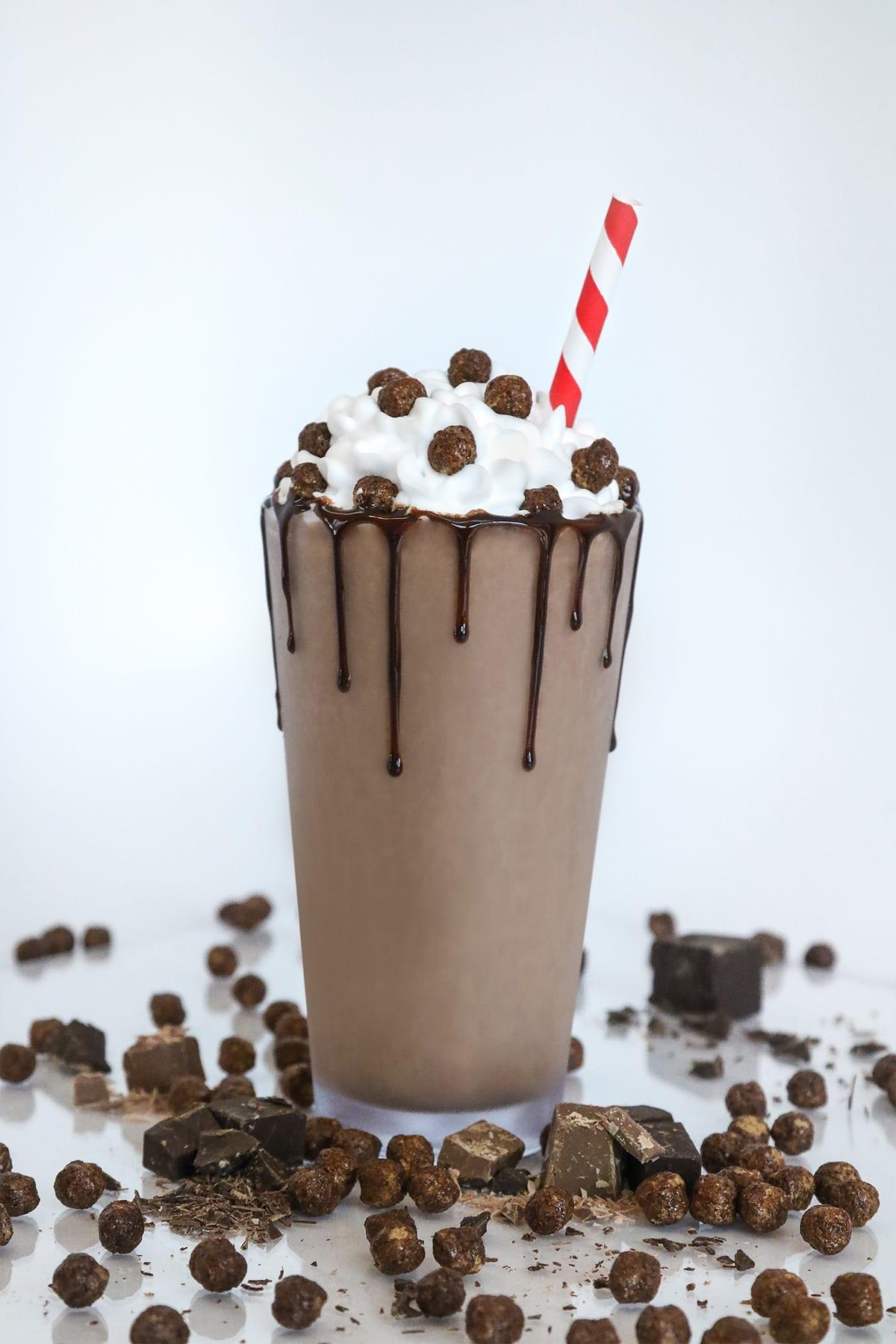 Cocoa Cliffs Milkshake
