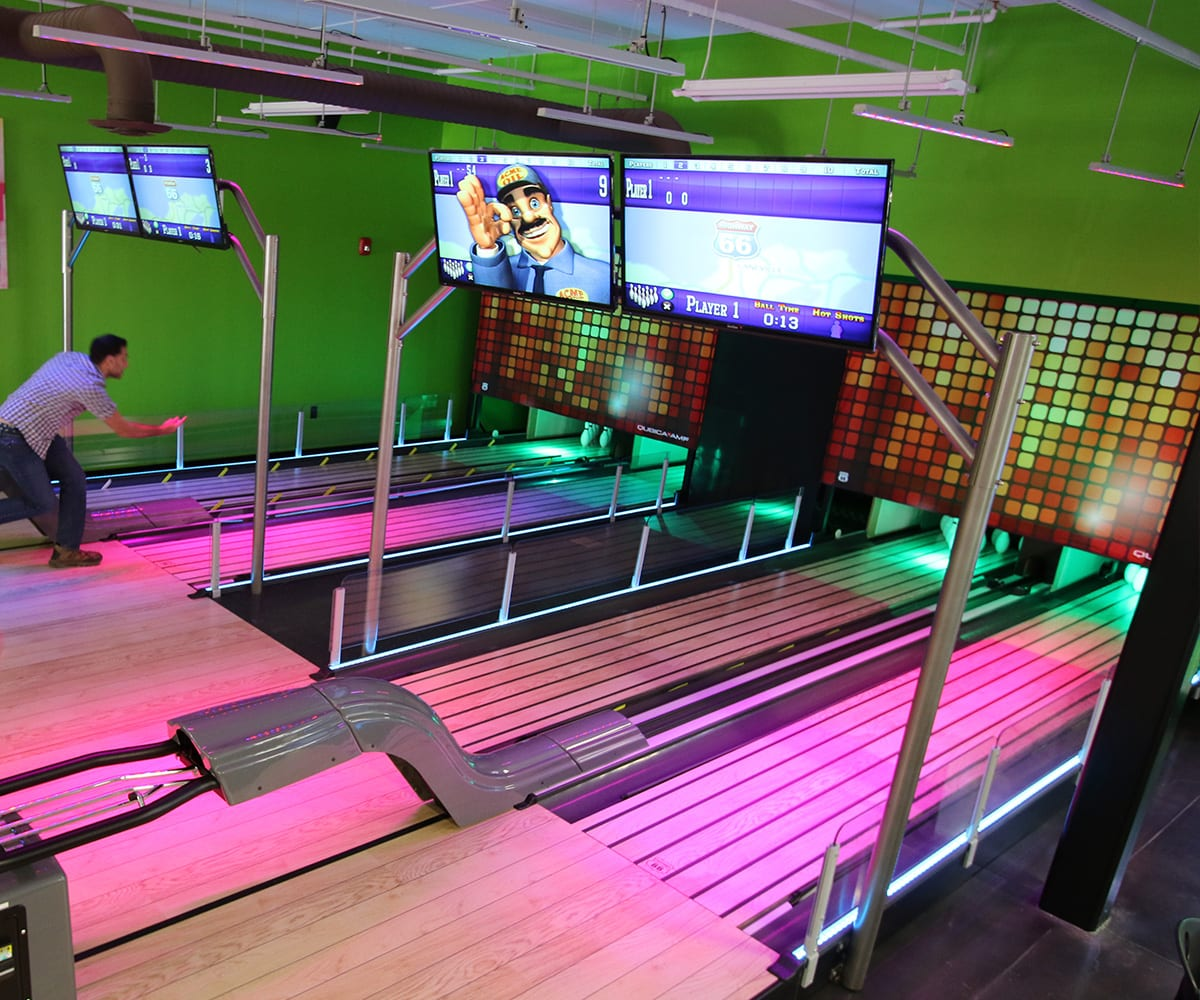Mini-Bowling at Crave Golf Club in Pigeon Forge, TN