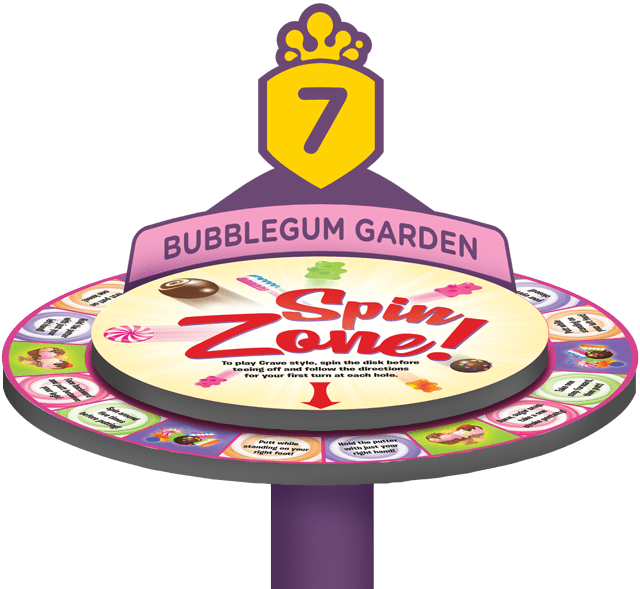 Spin Zone Spinner - Crave Golf Club